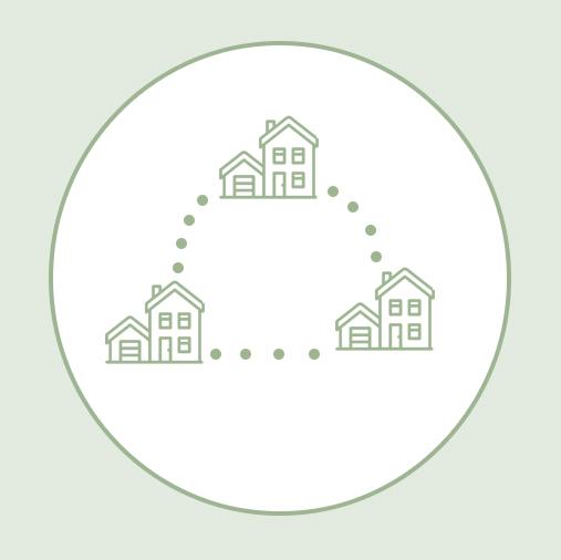 Les voies vertes métropolitaines permettent de connecter les quartier